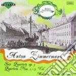 Zimmermann Bernd Alois - Quartetti X Archi Op.3 Vol.1: Quartetton.1, N.2, N.3 /p.zajicek & M.valent Vl, J.grener Vla, P.kiral' Vlc cd musicale di ZIMMERMANN BERND ALO