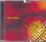 NOTTE D'ALBERO cd musicale di 27 GIODA