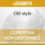 Old style cd musicale