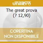 The great prova (? 12,90) cd musicale di ARBE GARBE + EUGENE