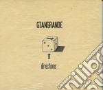 Roberto Giangrande - Directions cd musicale di Massimo Giangrande