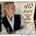 40 PASS (BOX 4CD+2DVD)                    cd musicale di VAN DE SFROOS DAVIDE