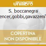 S. boccanegra -gencer,gobbi,gavazzeni'61 cd musicale di Giuseppe Verdi