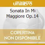 SONATA IN MI MAGGIORE OP.14 cd musicale di BEETHOVEN LUDWIG VAN