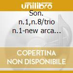 Son. n.1,n.8/trio n.1-new arca trio cd musicale di W. Furtwangler