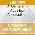 Al qantarah,canti suoni sicilia mediev. cd musicale di Artisti Vari