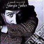I GRANDI SUCCESSI cd musicale di GABER GIORGIO