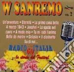 W SANREMO V.2(RADIOITALIA ANNI'60) cd musicale di ARTISTI VARI(box-3cd)