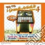 I GRANDI ARTISTI 60/70 VOL.4/2CDx1 cd musicale di ARTISTI VARI