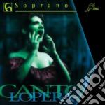 Cantolopera - Arie Per Soprano, Vol.6 - Base Orchestrale Per La Pratica Del Canto cd musicale di