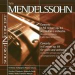 Mendelssohn Felix - Concerto Op.64 Per Violino E Orchestra - Base Orchestrale cd musicale di