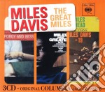 The great miles (box original columbia j cd musicale di Miles Davis