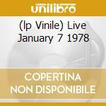 (LP VINILE) LIVE JANUARY 7 1978 lp vinile di RAMONES