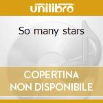 So many stars cd musicale di L.KONITZ/T.GHIGLIONI