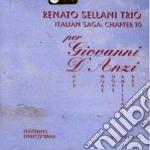 Renato Sellani Trio & Enrico Rava - Per Giovanni D'anzi cd musicale di SELLANI/RAVA