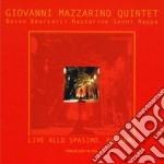 Giovanni Mazzarino Quintet - Live Allo Spasimo Palermo cd musicale