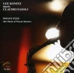 Lee Konitz Meets Claudio Fasoli - Infant Eyes cd musicale di LEE KONITZ MEETS CLA