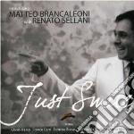 JUST SMILE cd musicale di MATTEO BRANCALEONI &