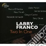 Larry Franco Piano Elegy - Two In One cd musicale di FRANCO LARRY PIANO E