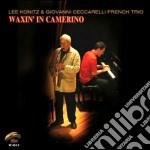 Lee Konitz & G.ceccarelli F.t. - Waxin' In Camerino cd musicale di KONITZ & CECCARELLI