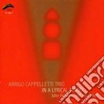 In a lyrical mood cd musicale di ARRIGO CAPPELLETTI T