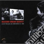 Massimo Urbani Quartet - Live At Blue Lab Rome '88 cd musicale di Massimo urbani quart