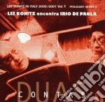 Lee Konitz & Irio De Paula - Duas Contas cd musicale di KONITZ / DE PAULA