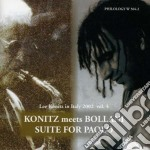 Lee Konitz & Stefano Bollani - Suite For Paolo cd musicale di KONITZ/BOLLANI