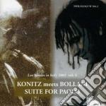 Lee Konitz & Stefano Bollani - Suite For Paolo cd musicale di KONITZ/BOLLANI