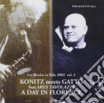 Lee Konitz & Roberto Gatto - A Day In Florence cd musicale di KONITZ/GATTO