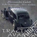 TRACTION AVANT cd musicale di Alessandro Galati