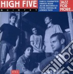 High Five - Jazz For More cd musicale di Fivr High
