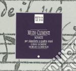 SONATA X PF A 4 MANI N.1 E 2 OP.3, N.2 E cd musicale di Muzio Clementi
