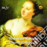 CONCERTO A CINQUE N.7 > N.12 OP.1 CON VL cd musicale di Benedetto Marcello