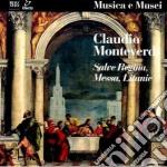 Monteverdi Claudio - Messa A Quattro Voci Da Cappella, Salveregina, Litanie Della Beata Vergine cd musicale di Claudio Monteverdi