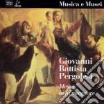 MISSA IN EXCELSIS, KYRIE ET GLORIA IN EX cd musicale di PERGOLESI GIOVANNI B