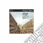SONATA A TRE X 2 VL E VLC N.7 > N.12 OP. cd musicale di Antonio Vivaldi