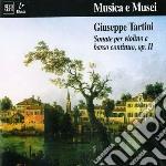 SONATA X VL E B.C. N.1 > N.6 OP.II cd musicale di Giuseppe Tartini
