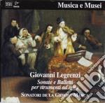 Legrenzi Giovanni - Sonate E Balletti X Strumenti Ad Arco cd musicale di Giovanni Legrenzi