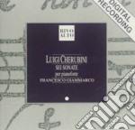 SONATA X PF N.1 > N.6 (SEI SONATE PER CI cd musicale di Luigi Cherubini