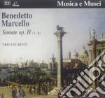 SONATA X FL E B.C. N.1 > N.6 OP.II cd musicale di Benedetto Marcello