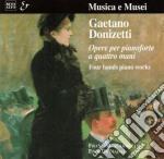 Donizetti Gaetano - Opera X Pf. A 4 Mani /duo Pianistico Franco Calabretto, Eddi De Nadai cd musicale di Gaetano Donizetti
