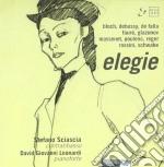 Elegie - Musica Per Cb E Pf /david Giovanni Leonardi Pianoforte, Stefano Sciascia Contrabbasso cd musicale