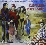 CANTARES POPULARES (ELABORAZIONE X 4 CHI cd musicale di GARCIA LORCA FEDERIC