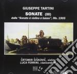 SONATE X VL AUTOGRAFE (MS.1905, BIBLIOTE cd musicale di Giuseppe Tartini