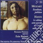 Haydn / Mozart - Le Ultime Sette Parole Di Cristo Sulla Croce cd musicale di Haydn franz joseph