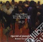 MUSICA X PF DI OPERISTI ITALIANI cd musicale