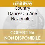 COUNTRY DANCES: 6 ARIE NAZIONALI SCOZZES cd musicale di Mauro Giuliani
