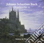 Bach J.S. - Opere X Organo Vol.1: Toccata E Fuga Bwv 565, Preludio E Fuga Bwv 543, Toccata,  - De Pieri Sergio  Org cd musicale di Johann Sebastian Bach