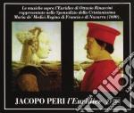 LE MUSICHE SOPRA L'EURIDICE DI OTTAVIO R cd musicale di Jacopo Peri